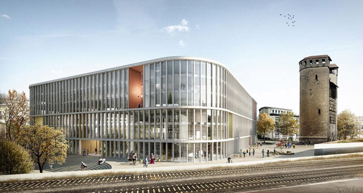 Ce à quoi ressemblera l'extérieur du nouveau bâtiment de droit