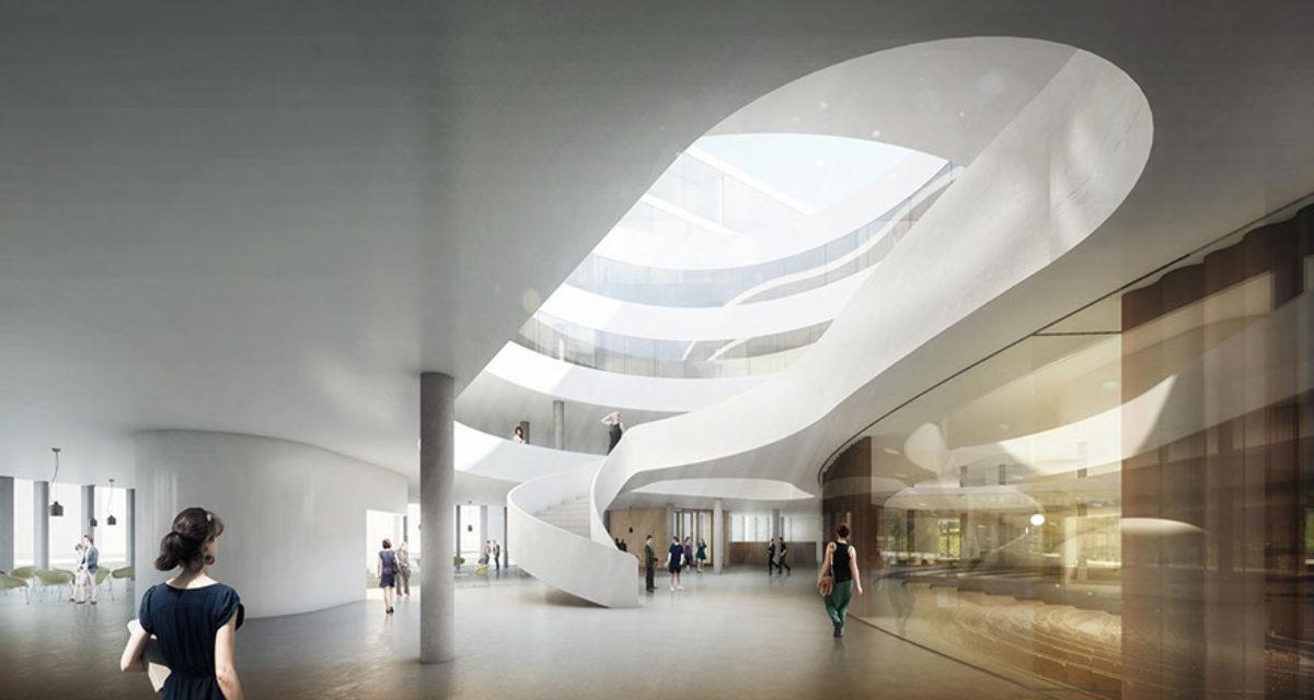 Ce à quoi ressemblera l'intérieur du nouveau bâtiment de droit
